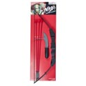 Ninja Archery Playset W/mini Knife Plastic/15.5in Tcd