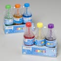 Bubbles 3pk Soda Pop Bottle 2.5oz 6asst Scented Shrink Wrap Tray