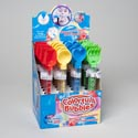 Bubble Wand W/sand Tool Top 4asst Styles 24pc Pdq/ Upc Label