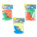 Water Gun 2pk/3ast Styles Asst Colors 5x4in Polybag/header