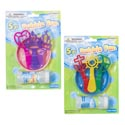 Bubble Playset 2ast W/2oz Bubble Solution Pirate/princess Wand Shapes Blister Card