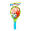 Splash Catcher 13in 3ast Colors 2 Rackets/1 2in Ball Meshbag/hdr
