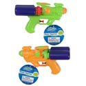 Water Gun 7.25in Double Tank 2ast Colors Summer Hangtag