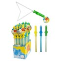 Bubble Sword W/expanding Wand For Giant Bubbles 3ast/24pc Pdq 15.75in