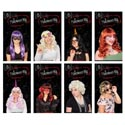Wig Ladies 8ast Long/short Styles Pb Full Photo Insert Card