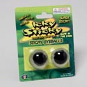 Sticky Eyeballs 1.25in/2pk Glow-in-the-dark 12pc Merchstrip