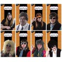 Wig 8asst Mens Styles Polybag Photo Insert Card