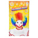 Clown Wig Rainbow Color Deluxe Quality Polybag/insert Card