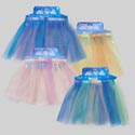Skirt Dress-up Multicolor Tulle Layers 4ast Tie On Card