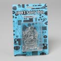 Safety Pins 1ooct In Storage Box 50sm/25med/25lg Blister Carded New Gov Sewing Artwork