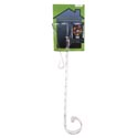 Wreath Hanger Adjustable 15-25 Inch L Clear Ps Tieon Card