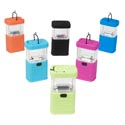 Lantern Portable 11led 1.88x2.75x6.29in 6ast Colors 3xaa Batt(not Inc)camping Label