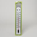 Thermometer Jumbo Wall 3x16in In/outdoor Plastic Gov Home Blister Card