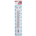 Thermometer Jumbo Wall 3x16in In/outdoor Plastic Garden Summer Blister Card