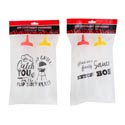Mustard/ketchup Dispenser 2pk Red/yellow Tomato/pepper Shape Gov Logo Polybag Header Card