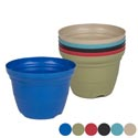 Planter Bamboo Fiber 7x5in Biodegradable 6colors L&g Label