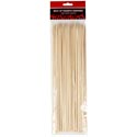 Skewers Bamboo 80ct 12in Zip- Storage 3mm Bbq Polybag/header