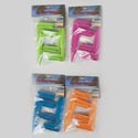 Peg Clips/stakes 4pk For Holding Picnic Blankets/beach Towels 4asst Colors/pbh Header