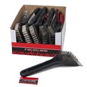 Grill Brush 8in In 12pc Counter Display Bbq Hangtag