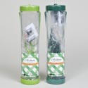 Bird Feeder 4 Port Tube 9.75in 2ast Color Shrink/label