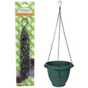 Plant Hanger Chain Black Iron 20.5in/52cm Garden Blister Card