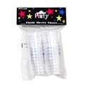 Shot Glass Disposable Plastic **20ct/1 0z Clear Party Pbh