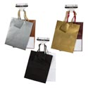 Gift Bag 2pk Med Emboss Lizard 3 Solid Color Combos 7x9x3.875 Gov Party Header
