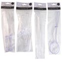 Serving Utensils Clear Plst 2pc Cake/salad/knife & Fork-1pc Tong Gov Party Printed Polybag