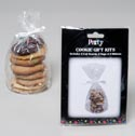 Cookie Cello Gift Kit 6pk Clear 6pc Foil Board/bag/ribbon On12pc Merchstrip Gov Party Insert P