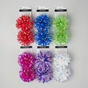 Bow Fountain 2pk/5in 6ast Bright Colors