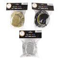 Hat Mini New Year Tophat 4pk 3ast Silver/gold/black Pbh