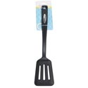 Kitchen Tool Slotted Turner Nylon 13.8inl Black Kitchen Half Tcd