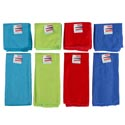 Kitchen Textiles Microfiber 2pk 12x12 Dishcloth/15x25 Towel 4ast Hot Pink/green/orange/teal Ht