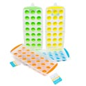 Ice Ball Tray W/easy Popout 21 Slots/4ast Color B&c Ht