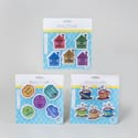 Magnet 5pk 3ast Novelty Styles On B&c Kitchen Blister Card