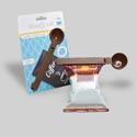 Coffee Scoop & Clip 6.5in L 1 1/4 Tbsp On 12pc Mdsgstrip Kitchen Card W/coffee Graphic