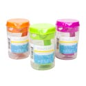 Measuring Cup 8pc Set W/pitcher 2cup Measuring W/6pc Scoops Summer Colors Pink/green/orange