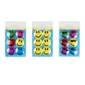 Magnet Smiley Face 3ast Styles 6pk B&c Blister Card