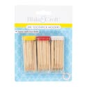 Toothpick Holder 3pk/60pk Per Bottle On 12pc Mdsgstrip