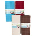Dish Drying Mat Microfiber Reversable 12x16in 4asst Colors Kitchen Sleeve Card