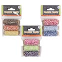 Twine Craft/baker 3pk 10m Ea Rolls 9 Colors/3 Combos Craft Pbh