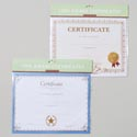 Award Certificates 10pk 11x8.5in 2asst Styles Gov Polybag/header