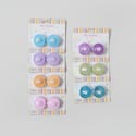 Tealight Led 2pk Spring Glitter Or Metallic 2mdsg Strips Ea Per Case Asst Spring Colors Blc