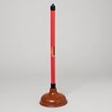 Plunger With Plastic Handle 19.75 In