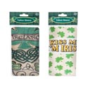 Tattoo Sleeve St Patricks 2ast Design 17.5inl On 12pc Mdsg Strp St Pat Pbh
