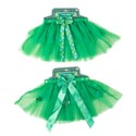 Tutu Satin Trim 2ast St Pats Green W/bows Tie On Header