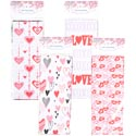 Loot Bag Cello Valentine 20ct 4asst Prints On 24pc Msdg Strip 10x4x2 Val Pbh