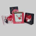 Gift Bag Love Glitter/hotstamp 48pc Pdq/large 9.6 X 10 X 4in Upc/gift Tag/vertical-horiz