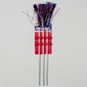 Pom-pom Tinsel 3pk Patriotic Parade 18in Overall Ea Set/tcd