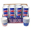 Treat Cups Patriotic 8ct/8oz 2ast 24pc Pdq Shrink W/label